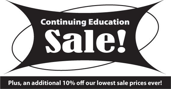 Continuing Education Sale
