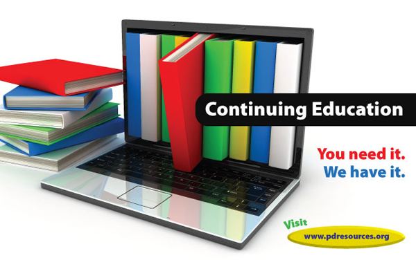 Continuing Education - You Need it. We have it.