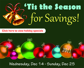 'Tis the Season for Savings!
