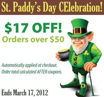 St. Patrick's Day CE Sale