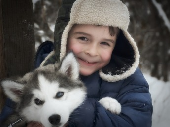 Kids with Dogs Suffer Less Anxiety